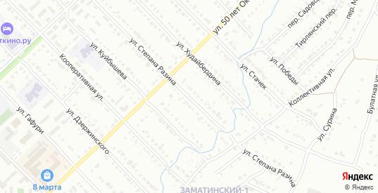 Улица Степана Разина в Белорецке с номерами домов на карте. Спутник и схема онлайн