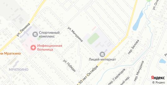 Улица Мичурина в Белорецке с номерами домов на карте. Спутник и схема онлайн