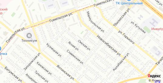 Днепропетровская улица в Орске с номерами домов на карте. Спутник и схема онлайн
