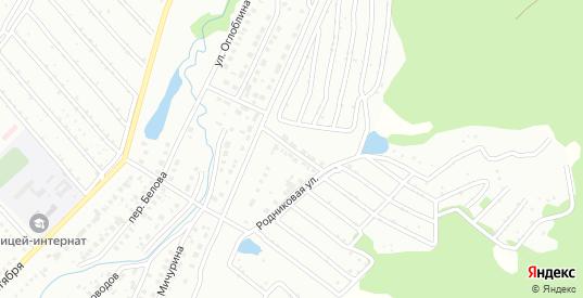 Вишенная улица в Белорецке с номерами домов на карте. Спутник и схема онлайн