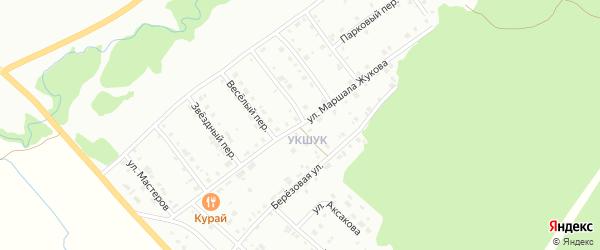Улица Маршала Жукова на карте Белорецка с номерами домов