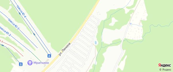 Сад Урожай на карте Белорецка с номерами домов