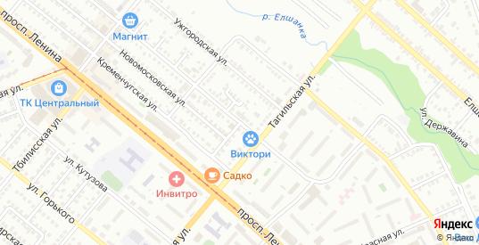 Улица Короленко в Орске с номерами домов на карте. Спутник и схема онлайн