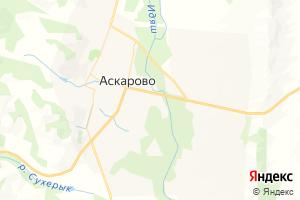 Карта с. Аскарово Республика Башкортостан