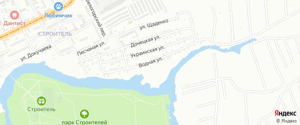 Водная улица на карте Орска с номерами домов