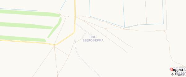 Карта поселка Зверофермы города Орска в Оренбургской области с улицами и номерами домов