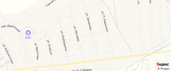 Молодежная улица на карте села Старого Сибая Башкортостана с номерами домов