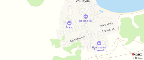 Улица Ахмет Заки Валиди на карте деревни Якты-Куль Башкортостана с номерами домов