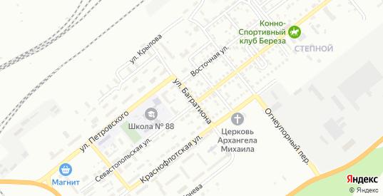 Улица Багратиона в Орске с номерами домов на карте. Спутник и схема онлайн