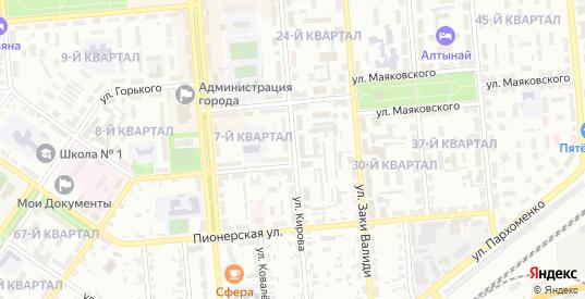 Улица Кирова в Сибае с номерами домов на карте. Спутник и схема онлайн