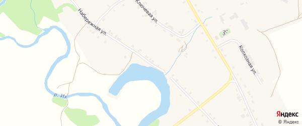 Набережная улица на карте деревни Морозовки Башкортостана с номерами домов