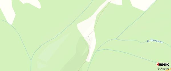 Карта Брусничного поселка в Челябинской области с улицами и номерами домов