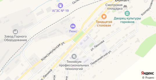 Улица Ленина в Бакале с номерами домов на карте. Спутник и схема онлайн