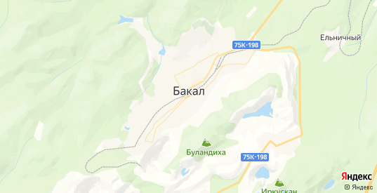 Карта Бакала с улицами и домами подробная. Показать со спутника номера домов онлайн