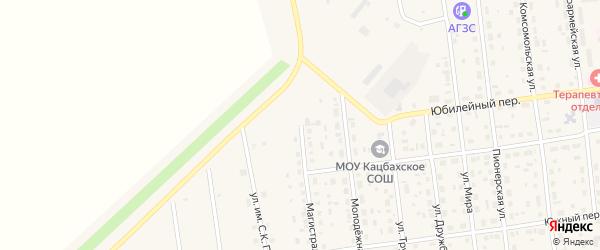 Магистральная улица на карте Кизильского села с номерами домов