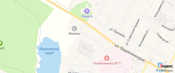 Улица Абросимова на карте Сатки с номерами домов