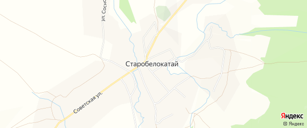 Территория автомобильная дорога Новобелокатай-Белянка-Перевоз-3 на карте Белокатайского района Башкортостана с номерами домов
