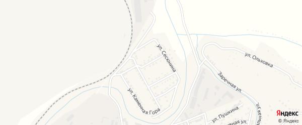 Красноармейская улица на карте Сатки с номерами домов