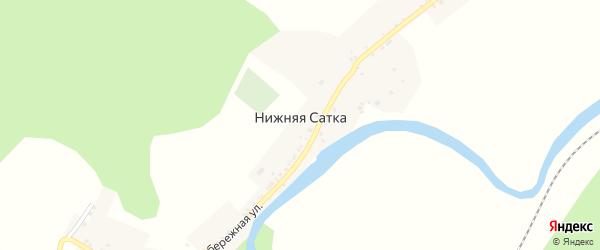 Улица Карла Маркса на карте поселка Сибирки с номерами домов
