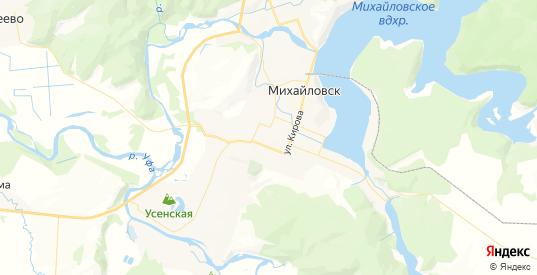 Карта Михайловска с улицами и домами подробная. Показать со спутника номера домов онлайн