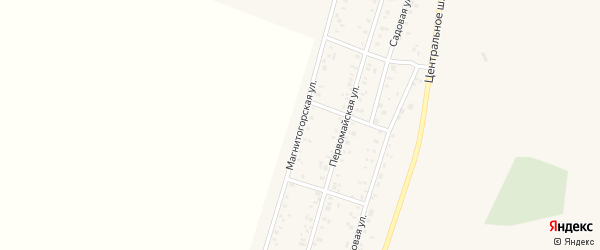 Магнитогорская улица на карте Приморского поселка с номерами домов