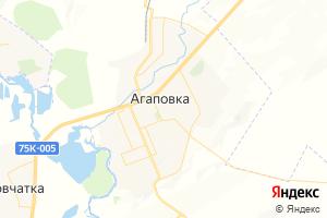 Карта с. Агаповка Челябинская область