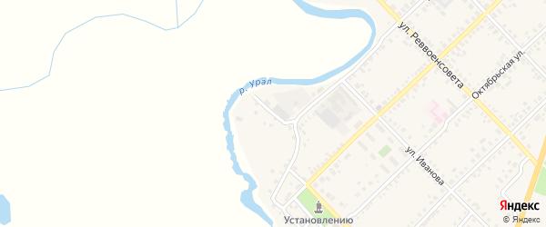 Уютный переулок на карте Верхнеуральска с номерами домов
