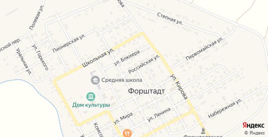 Российская улица в Верхнеуральске с номерами домов на карте. Спутник и схема онлайн