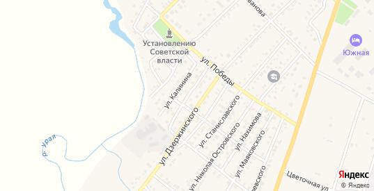 Улица Горького в Верхнеуральске с номерами домов на карте. Спутник и схема онлайн