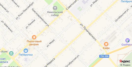 Улица ИПС в Верхнеуральске с номерами домов на карте. Спутник и схема онлайн
