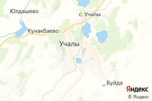 Карта г. Учалы Республика Башкортостан