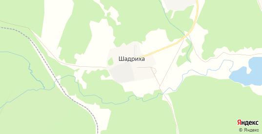 Карта поселка Шадриха в Первоуральске с улицами, домами и почтовыми отделениями со спутника онлайн