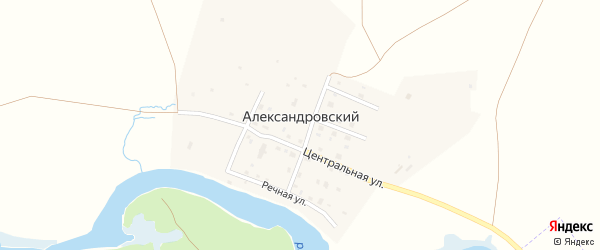 Новая улица на карте Александровского поселка с номерами домов