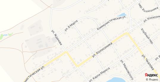 Коммунистическая улица в поселке Новоуткинск в Первоуральске с номерами домов на карте. Спутник и схема онлайн