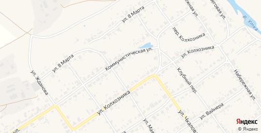 Улица Космонавтов в поселке Новоуткинск в Первоуральске с номерами домов на карте. Спутник и схема онлайн