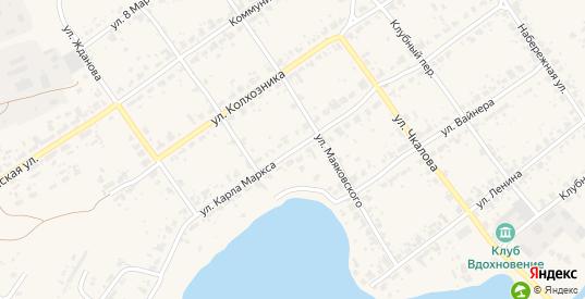 Улица Карла Маркса в поселке Новоуткинск в Первоуральске с номерами домов на карте. Спутник и схема онлайн