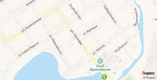 Улица Чкалова в поселке Новоуткинск в Первоуральске с номерами домов на карте. Спутник и схема онлайн