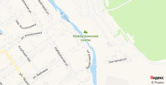 Береговая улица в поселке Новоуткинск в Первоуральске с номерами домов на карте. Спутник и схема онлайн