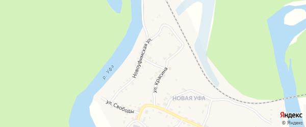 Улица Герцена на карте Нязепетровска с номерами домов
