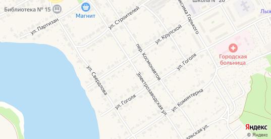 Электрозаводская улица в поселке Новоуткинск в Первоуральске с номерами домов на карте. Спутник и схема онлайн