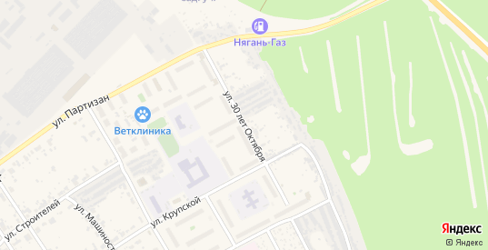 Улица 30 лет Октября в поселке Новоуткинск в Первоуральске с номерами домов на карте. Спутник и схема онлайн