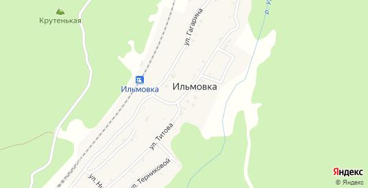 Улица Титова в поселке Ильмовка в Первоуральске с номерами домов на карте. Спутник и схема онлайн