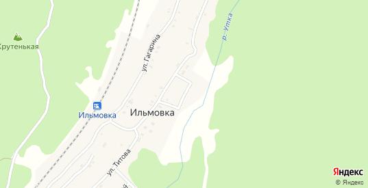 Садовая улица в поселке Ильмовка в Первоуральске с номерами домов на карте. Спутник и схема онлайн