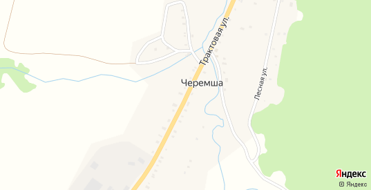 Трактовая улица в деревне Черемша в Первоуральске с номерами домов на карте. Спутник и схема онлайн