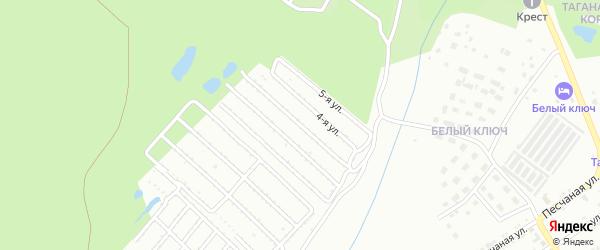 СНТ Локомотив-5 на карте Златоуста с номерами домов