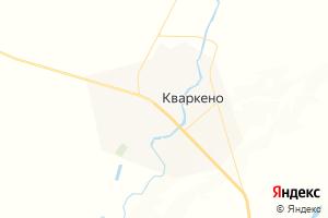 Карта с. Кваркено Оренбургская область