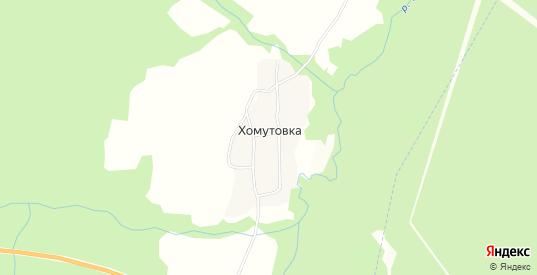 Карта деревни Хомутовка в Первоуральске с улицами, домами и почтовыми отделениями со спутника онлайн