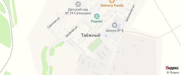 Животноводческая улица на карте Таежного поселка с номерами домов