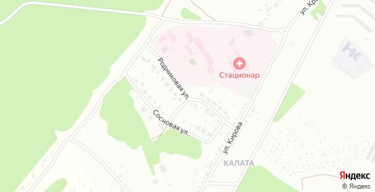Родниковая улица в Первоуральске с номерами домов на карте. Спутник и схема онлайн