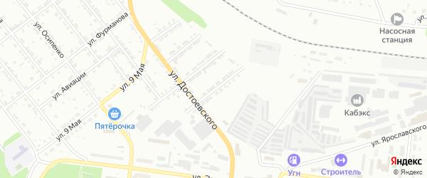 Улица Металлургов на карте Ревды с номерами домов